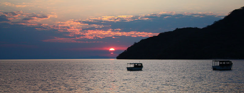Fishing with Malawi's Locals  on Lake Malawi at Sunset, Malawi