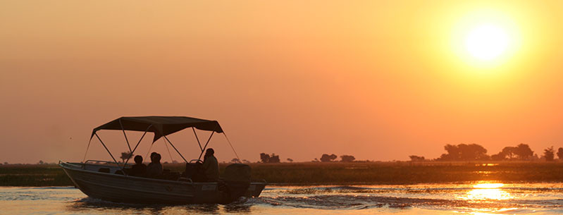 Sunset Boat Cruise on the Zambezi, Zambia