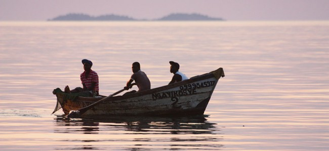 Fishermen on Lake Malawi, Malawi