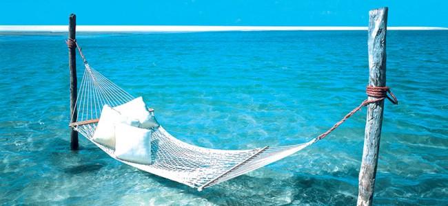 Hammock for relaxing at Bazaruto  Archipelago, Anantara, , Mozambique