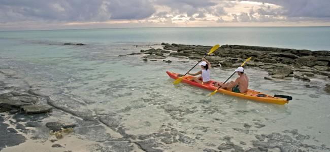 Kayaking at Medjumbe Island, Anantara , Mozambique