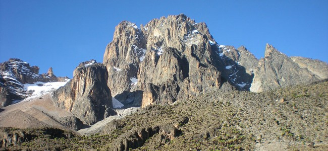 Mount Kenya, Park of the Eastern Rift mountains, Kenya