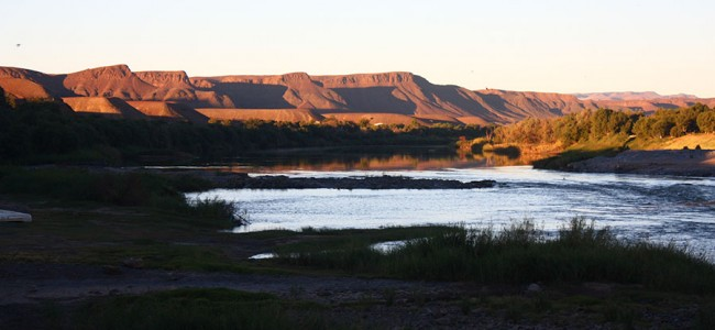 Orange River, Felix Unite, Namibia