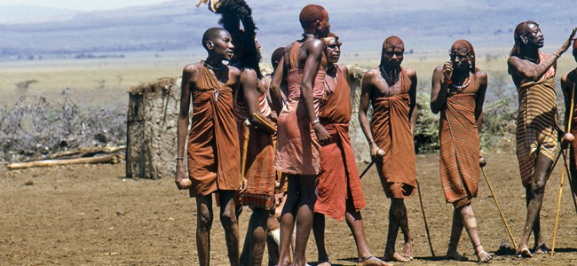 People from the Masaai Tribe, Kenya