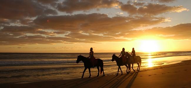Sunset Horse Riding at Inhambane, Barra Beach Resort, Mozambique